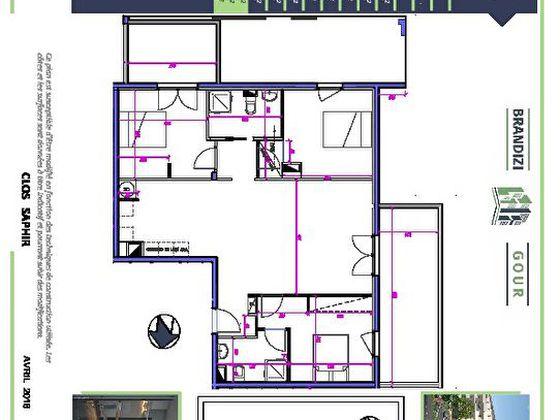 Vente appartement 4 pièces 92,3 m2