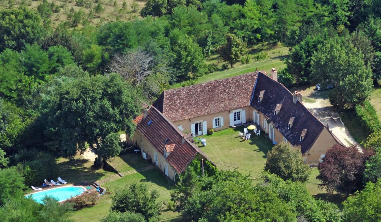 Maison avec piscine et terrasse Douville