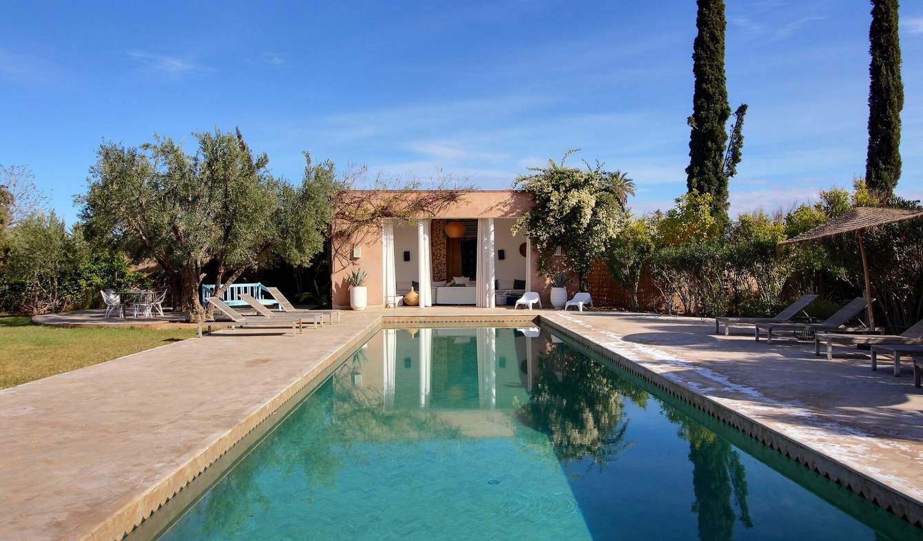 Propriété avec piscine Marrakech