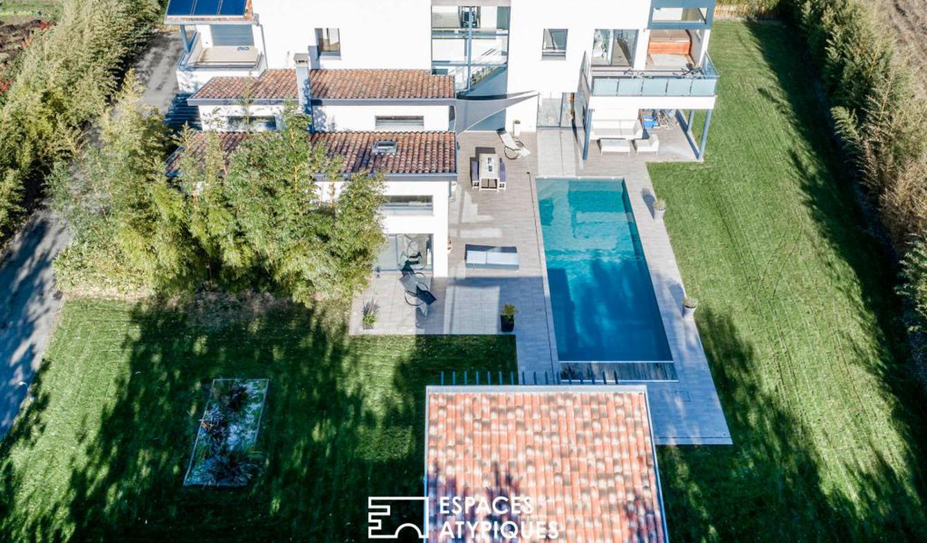 Maison avec piscine et terrasse Cornebarrieu