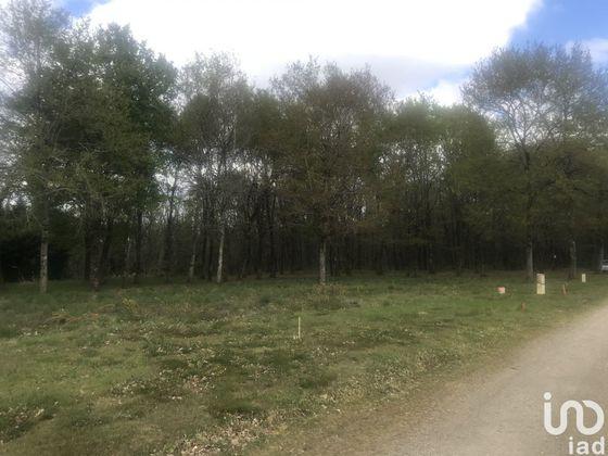 Vente terrain 1836 m2