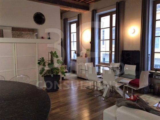 vente Appartement 4 pièces 79,35 m2 Lyon 1er