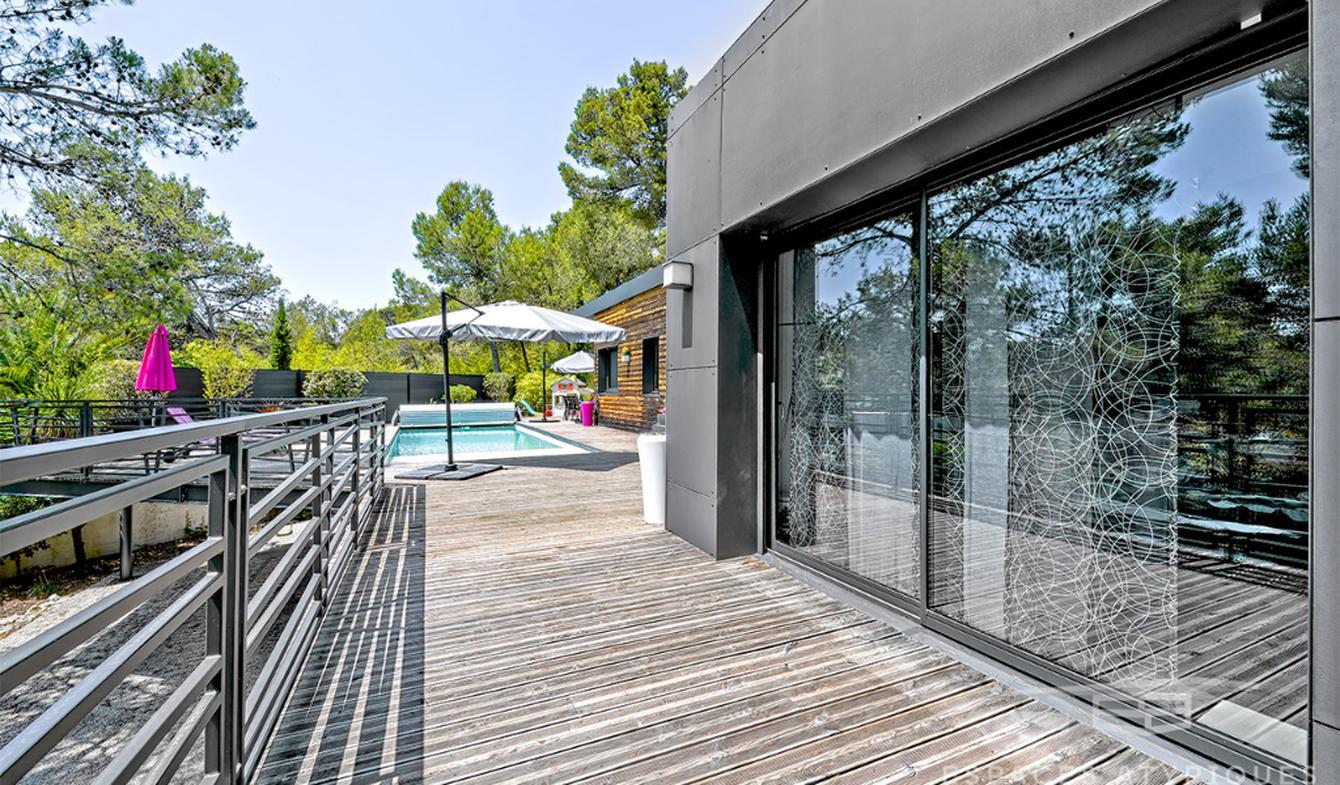 Maison avec piscine Saint-Bauzille-de-Montmel