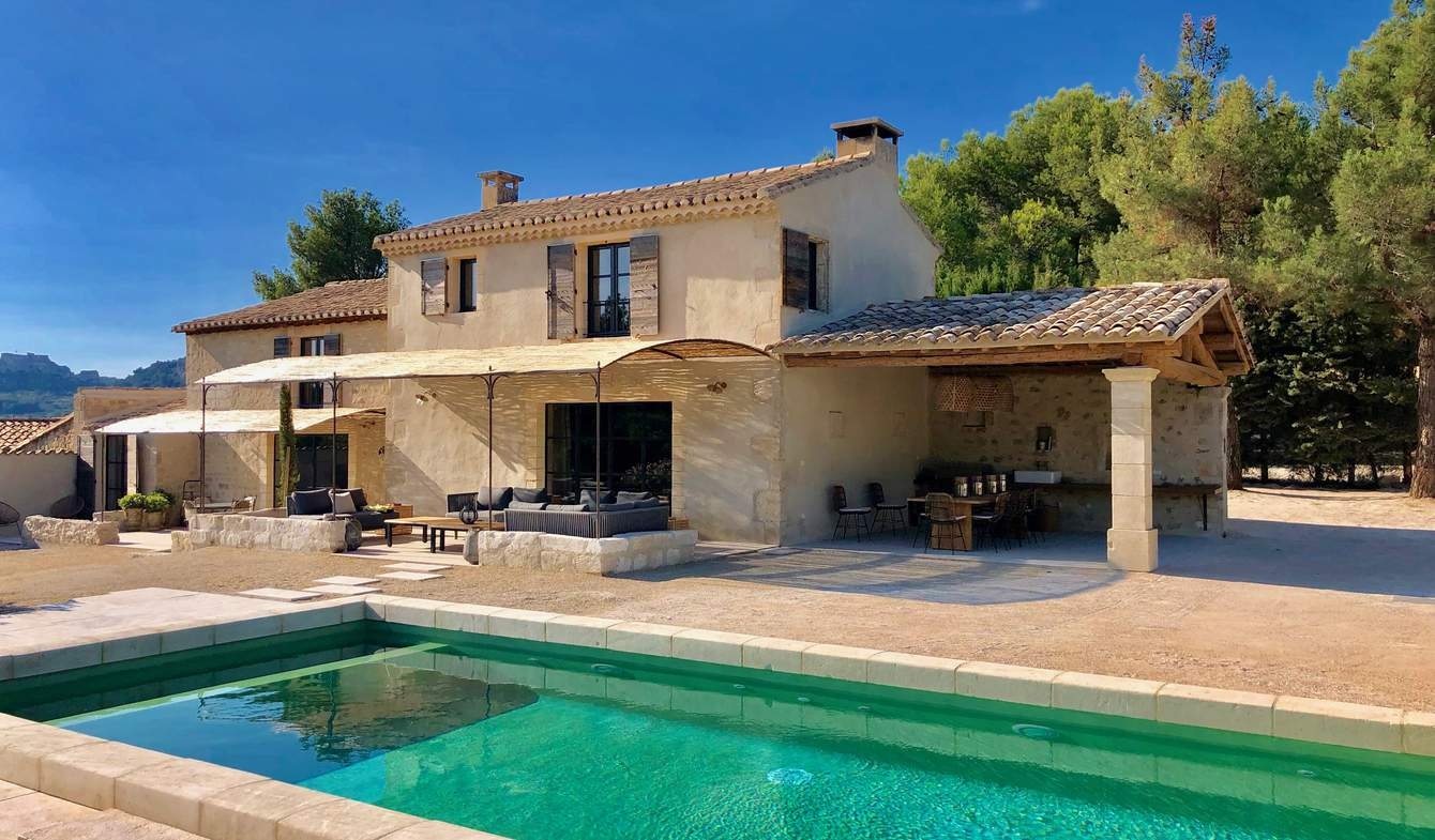 House with pool and garden Les Baux-de-Provence