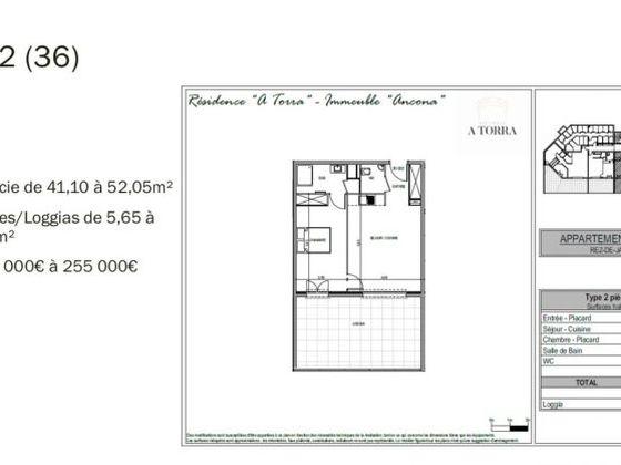 Vente studio 32 m2