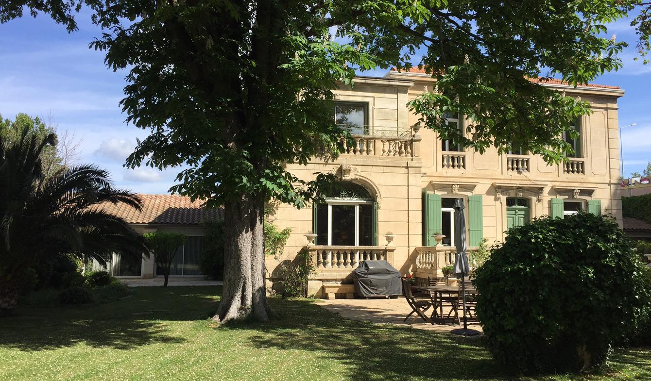 Hôtel particulier avec jardin et salle de réception Avignon