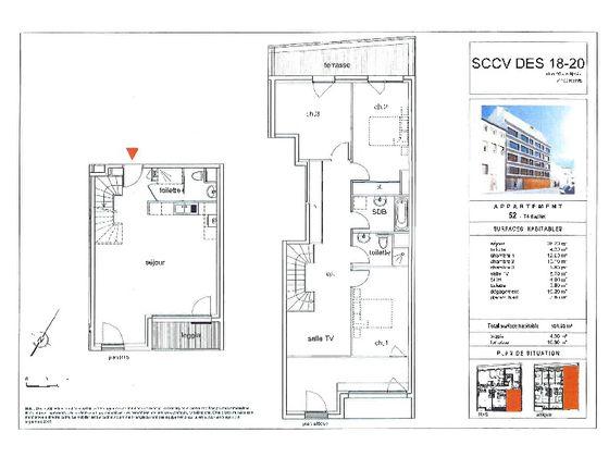 Vente appartement 5 pièces 116,95 m2