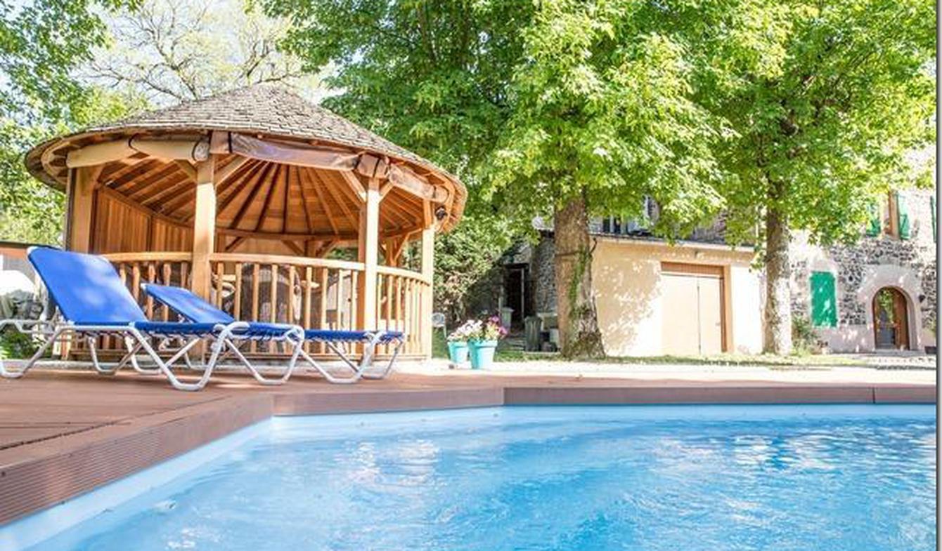 Maison avec piscine et terrasse Andancette