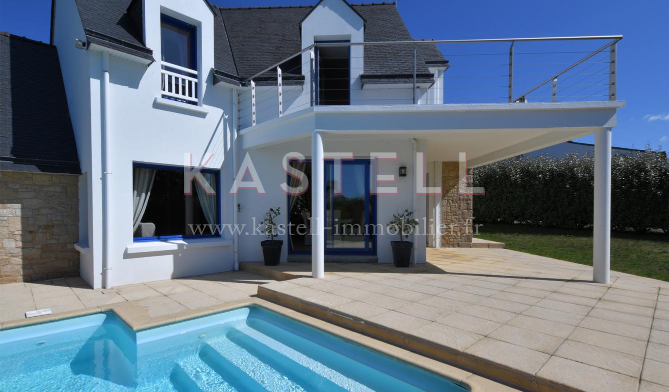 Maison avec piscine en bord de mer La trinite-sur-mer