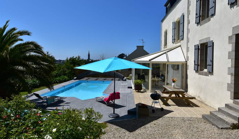 Maison avec piscine et jardin Saint-Pol-de-Léon