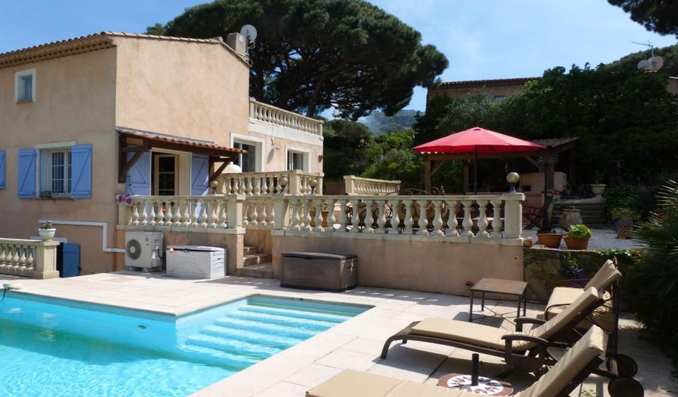 Maison avec piscine et terrasse Sainte-Maxime