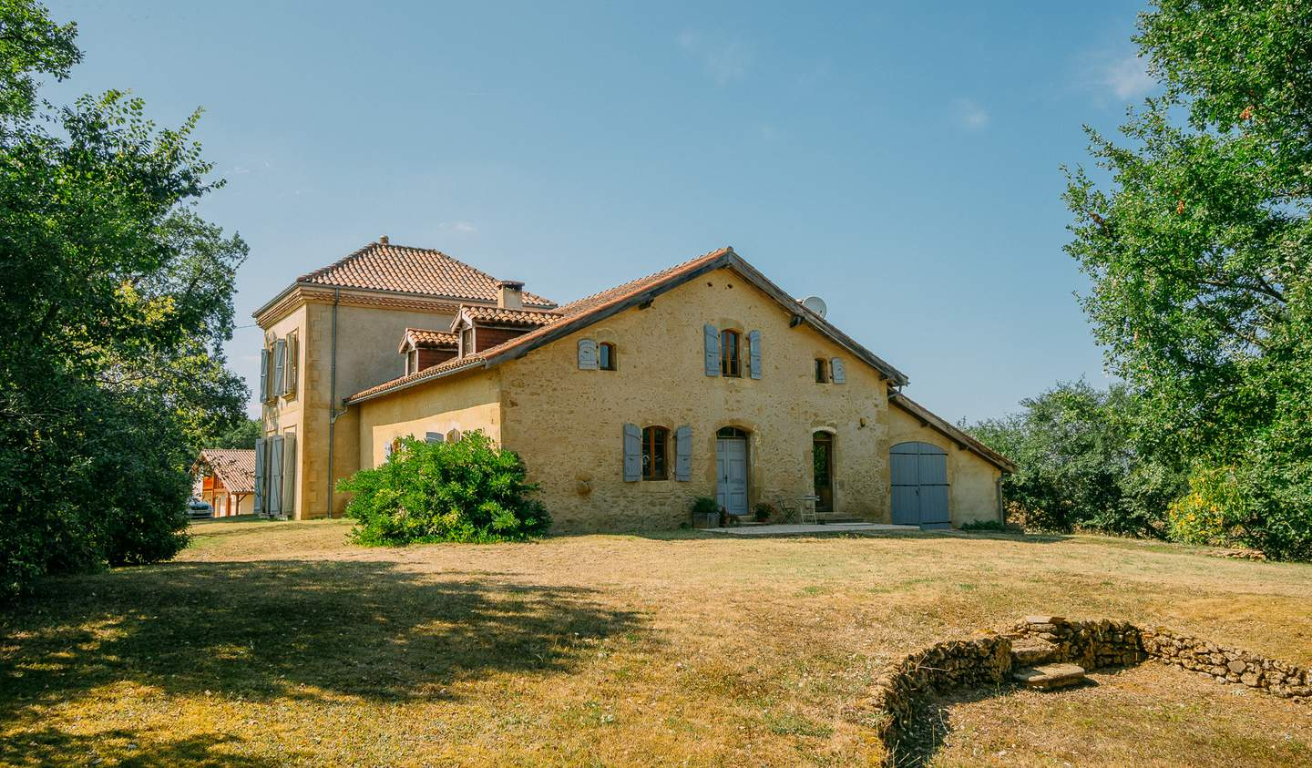 Property with pool Marciac