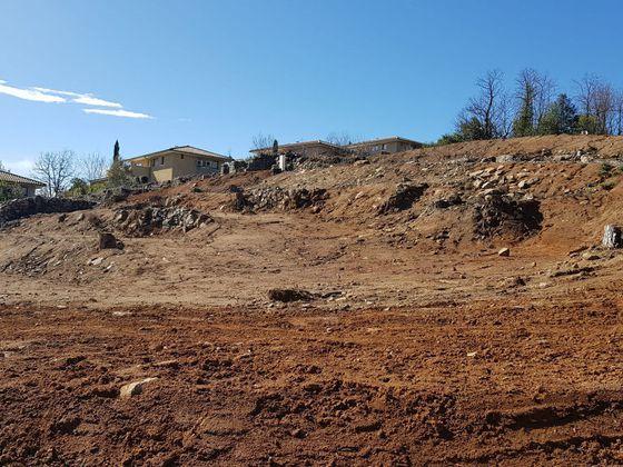 Vente terrain 879 m2