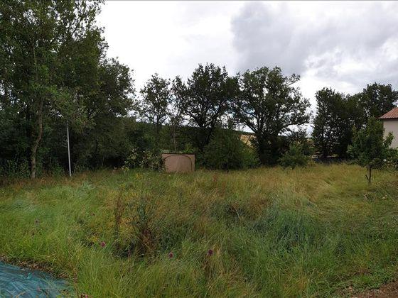Vente terrain 1363 m2