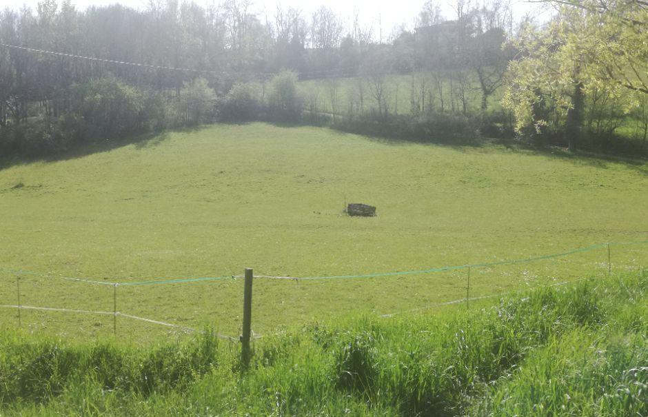 Vente terrain  2957 m² à Lamothe-Capdeville (82130), 59 400 €