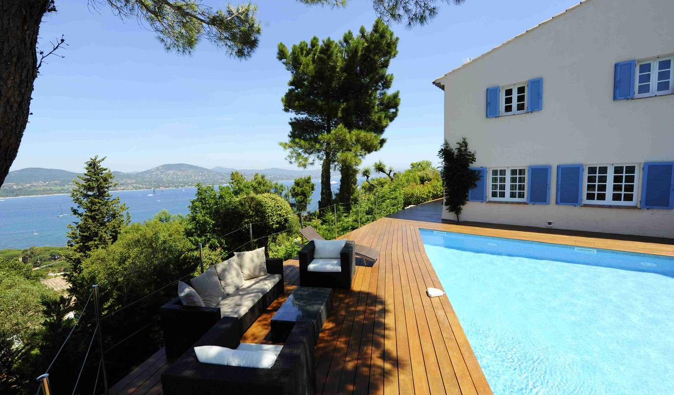 Villa with pool and terrace Gassin