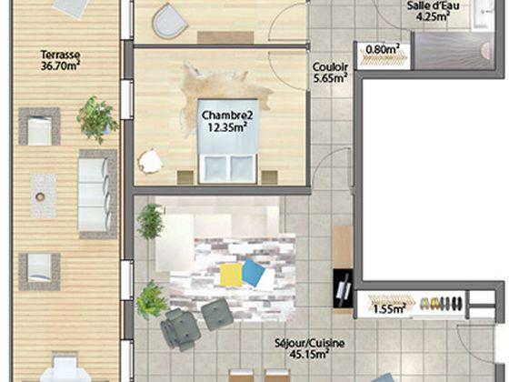 Vente appartement 4 pièces 104,31 m2