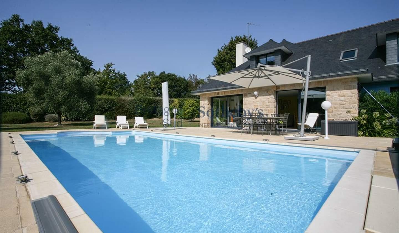 Maison avec piscine en bord de mer Saint-Philibert