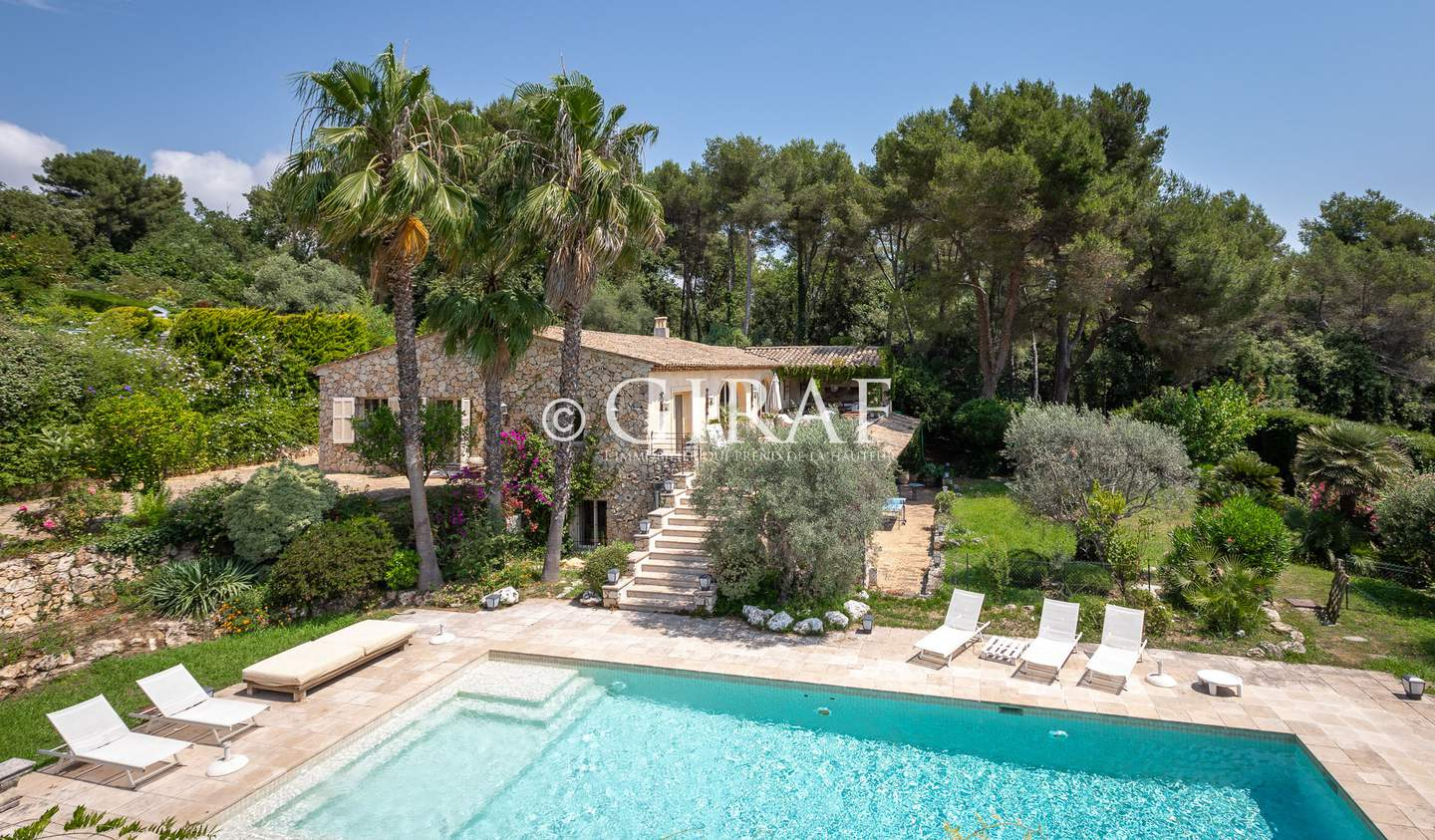 Villa with pool and terrace Saint Paul de Vence