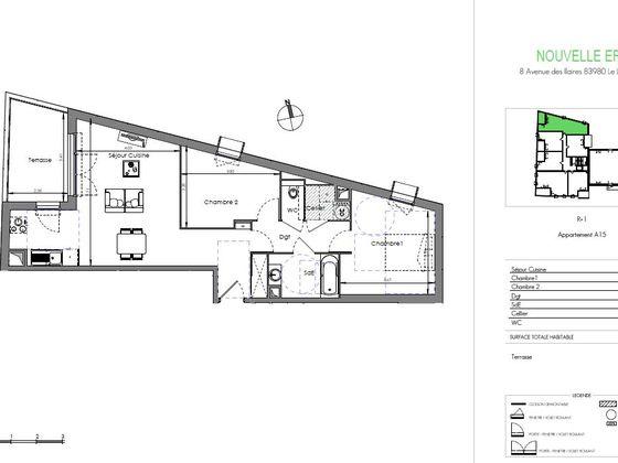 Vente appartement 3 pièces 67,31 m2