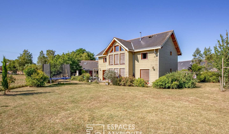 House with terrace Brigné