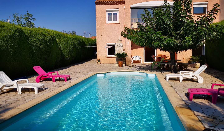 Maison avec piscine et terrasse Meze