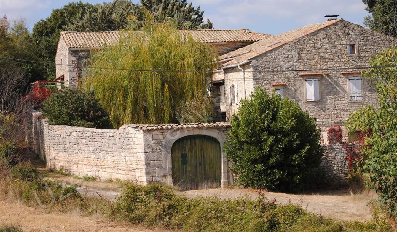 Maison avec jardin et terrasse Barjac