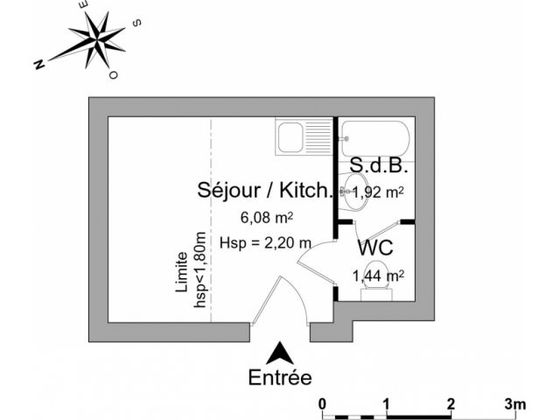 Location divers 1 pièce 10 m2
