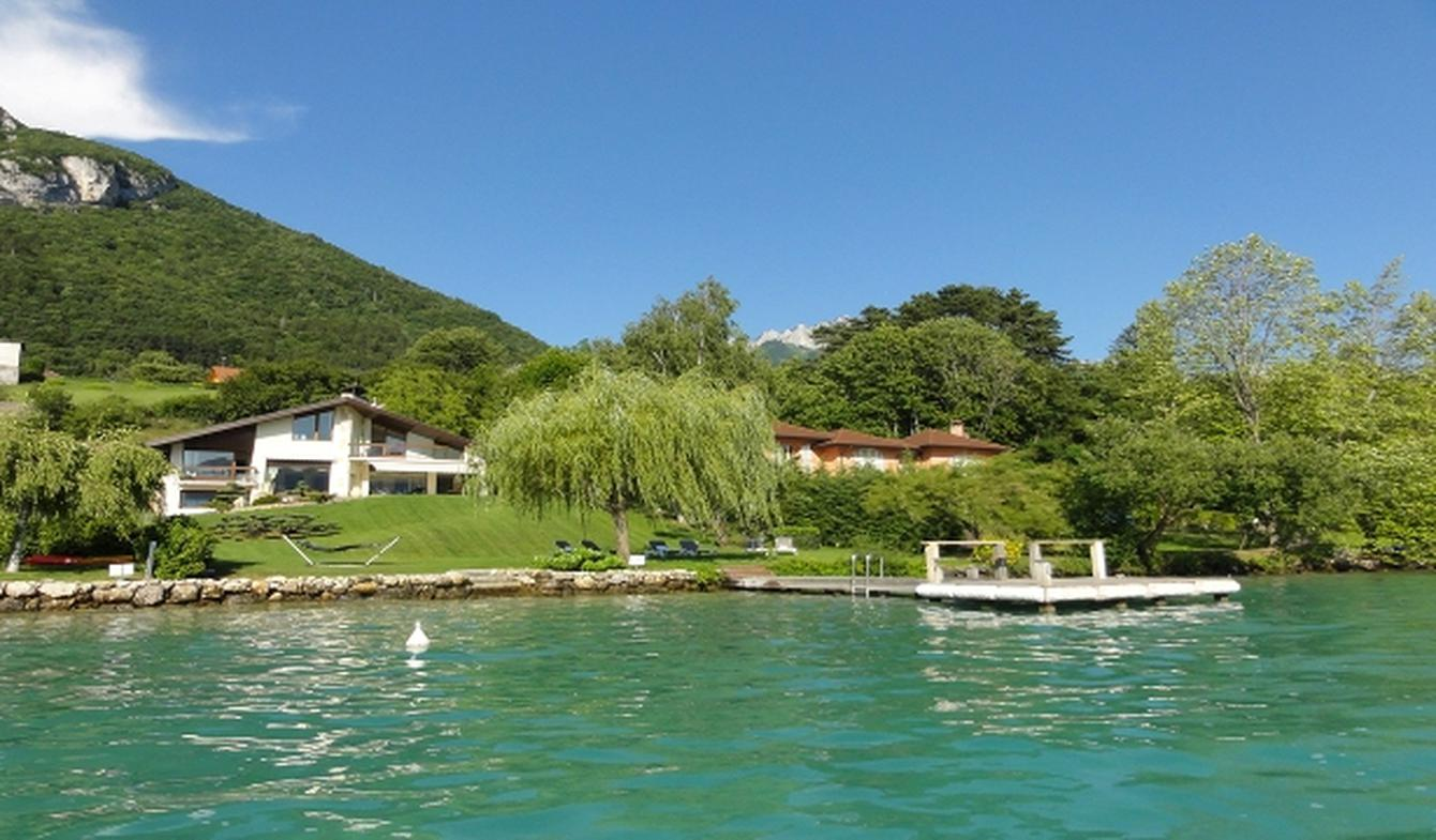 Villa with garden and terrace Veyrier-du-Lac