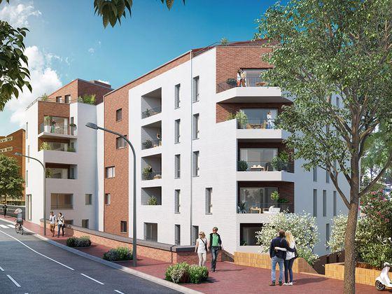vente Appartement 2 pièces 39,5 m2 Toulouse
