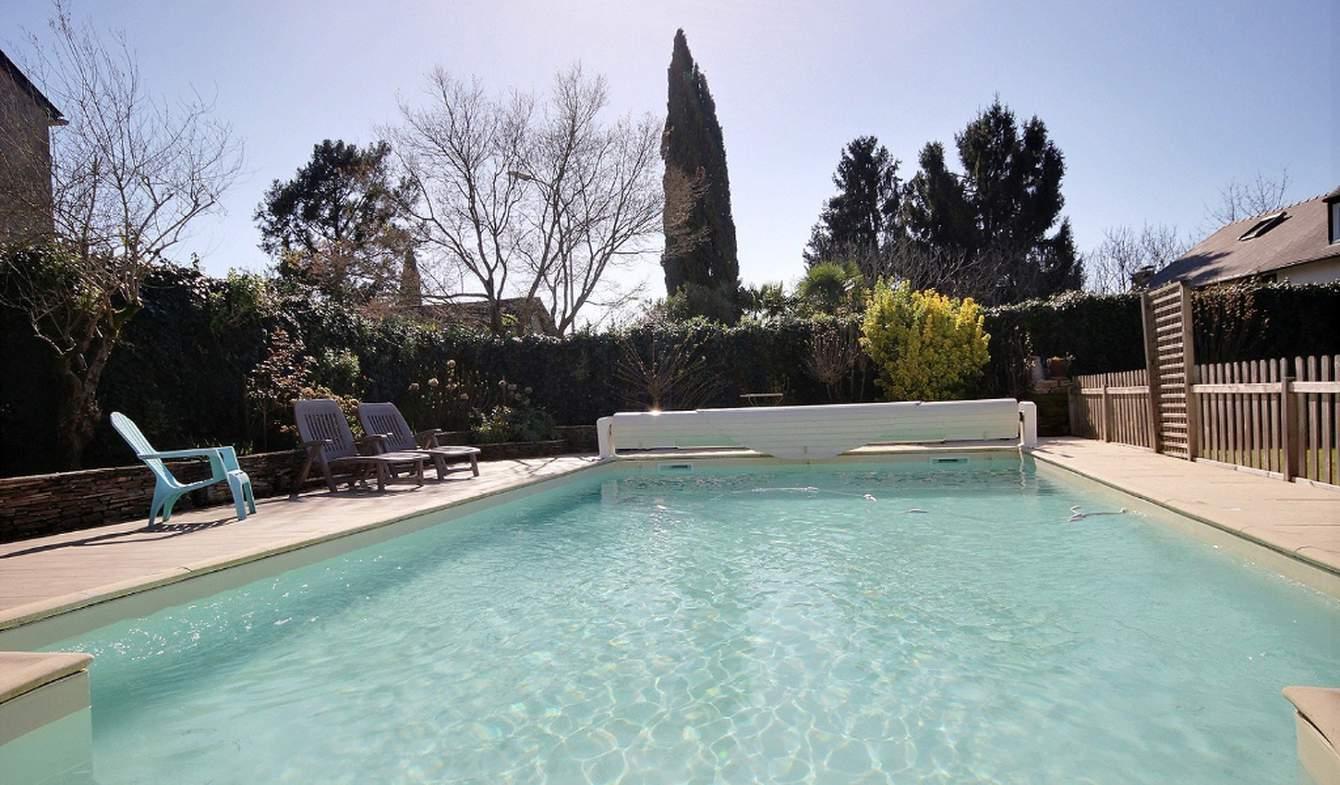 Maison avec piscine Boeil-Bezing