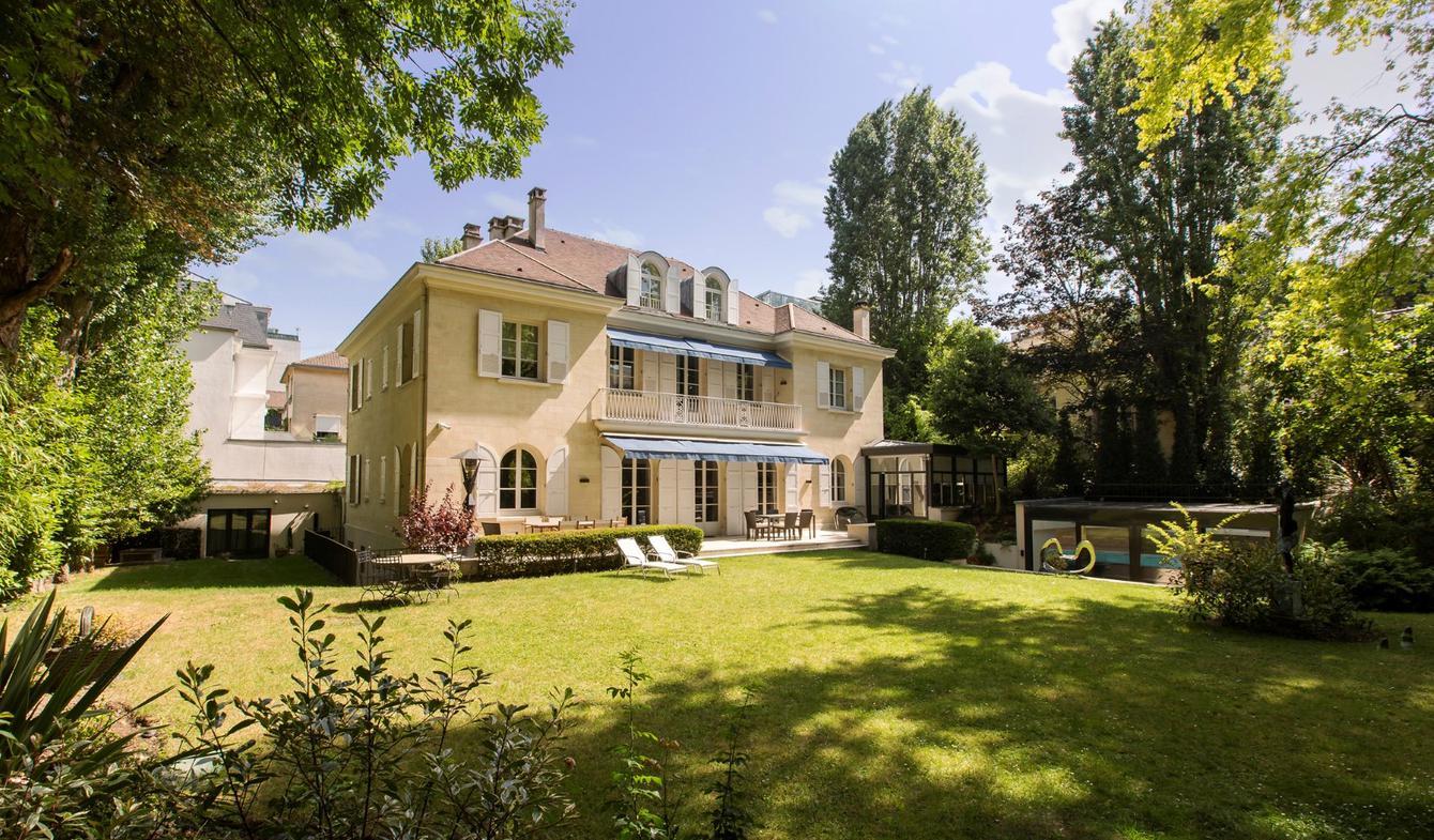 Maison avec piscine Neuilly-sur-Seine