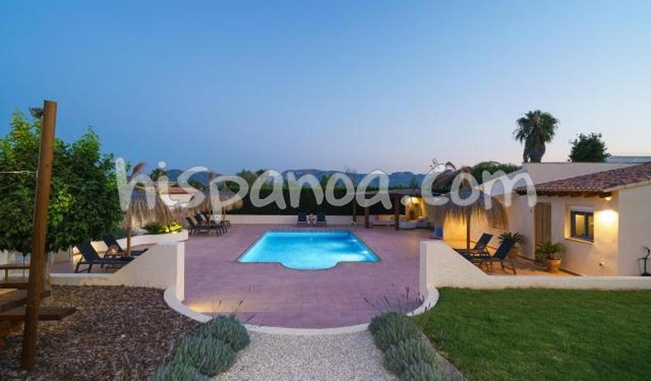 Villa with pool and terrace Xàbia