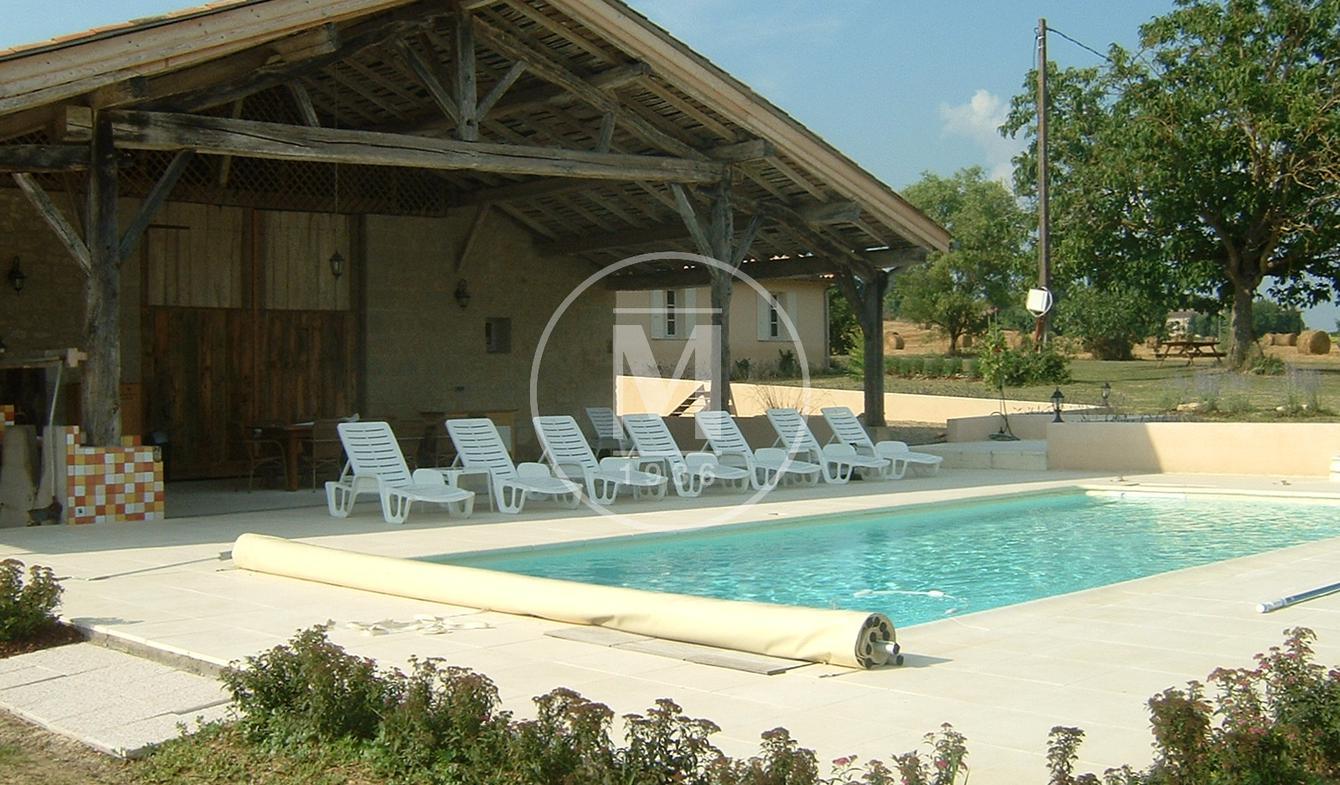 Maison avec piscine et terrasse Miramont-de-Guyenne