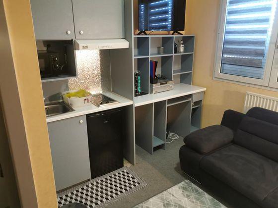 Location studio meublé 15 m2