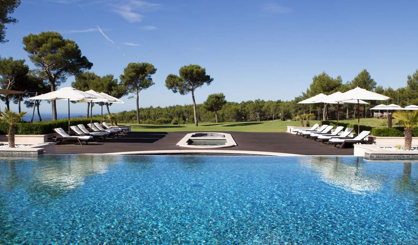 Hôtel avec jardin et sauna & hammam Le Castellet