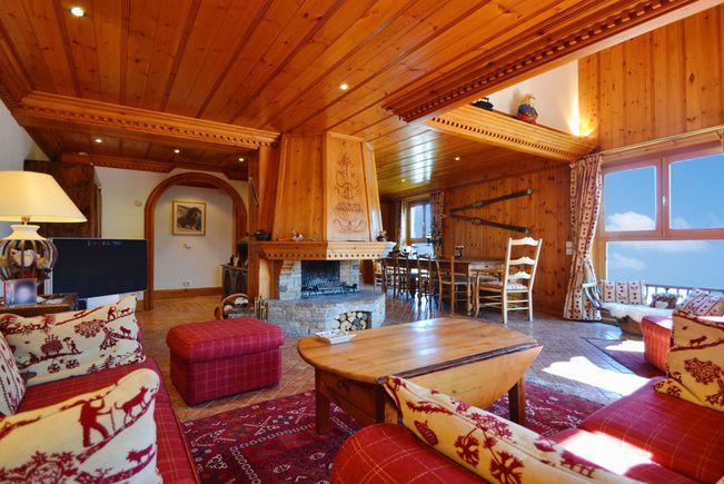Appartement avec Terrasse et Piscine, Courchevel