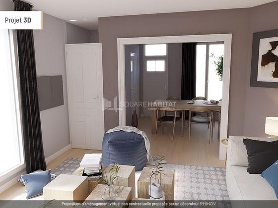 vente Maison 3 pièces 70 m2 Lille