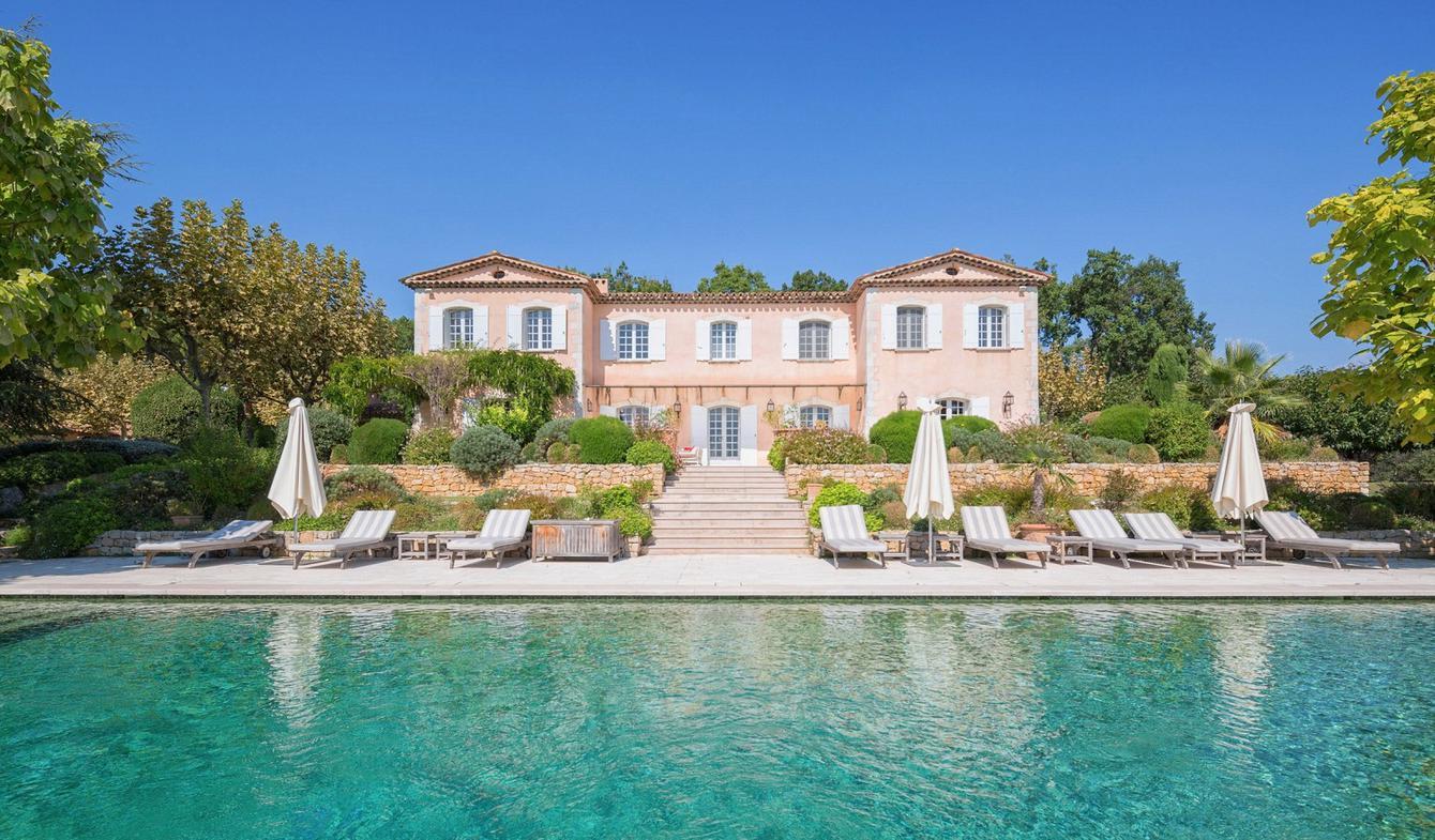 Villa avec piscine et jardin Saint-Cézaire-sur-Siagne