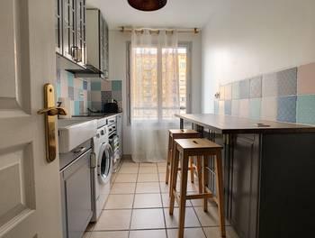 Appartement meublé 3 pièces 60,35 m2