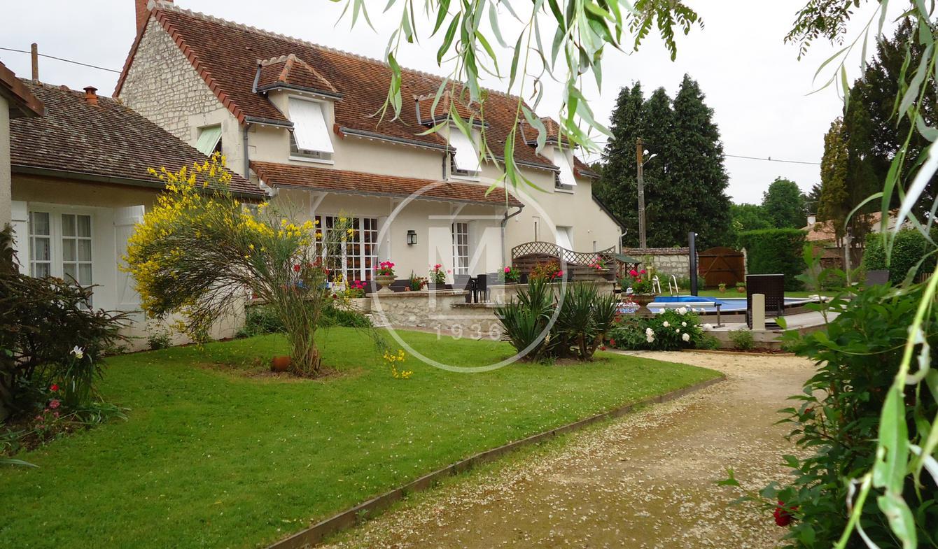 Maison avec piscine Descartes