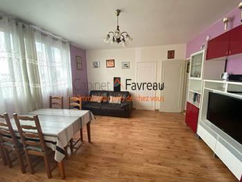 Appartement 3 pièces 54,99 m2