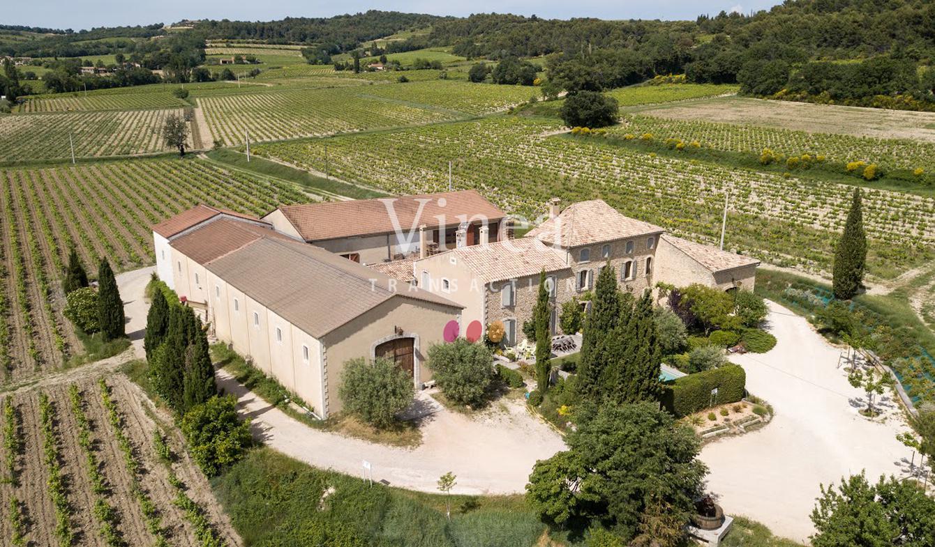 Propriété viticole avec piscine et dépendances Vaucluse