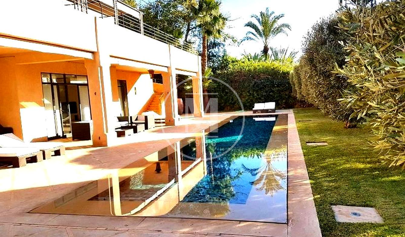 Villa avec piscine et terrasse Marrakech