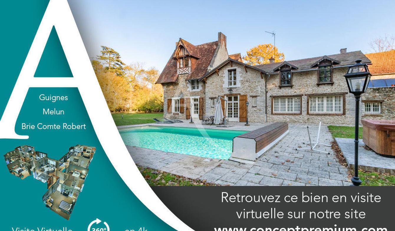 Maison avec piscine et terrasse Fontainebleau