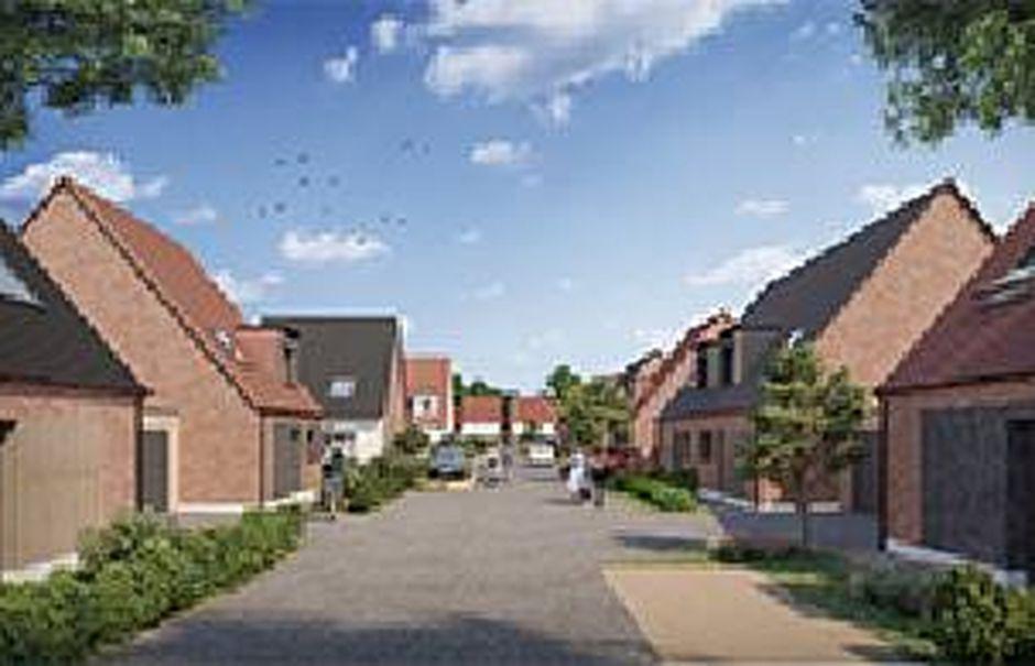 Vente maison 4 pièces 91.2 m² à Sainghin-en-Weppes (59184), 293 000 €