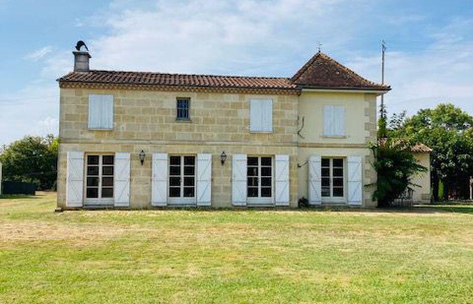 Vente maison 8 pièces 177 m² à Carignan-de-Bordeaux (33360), 694 000 €