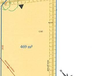 Terrain 469 m2