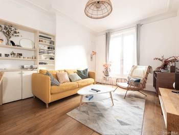 Appartement meublé 2 pièces 45,73 m2