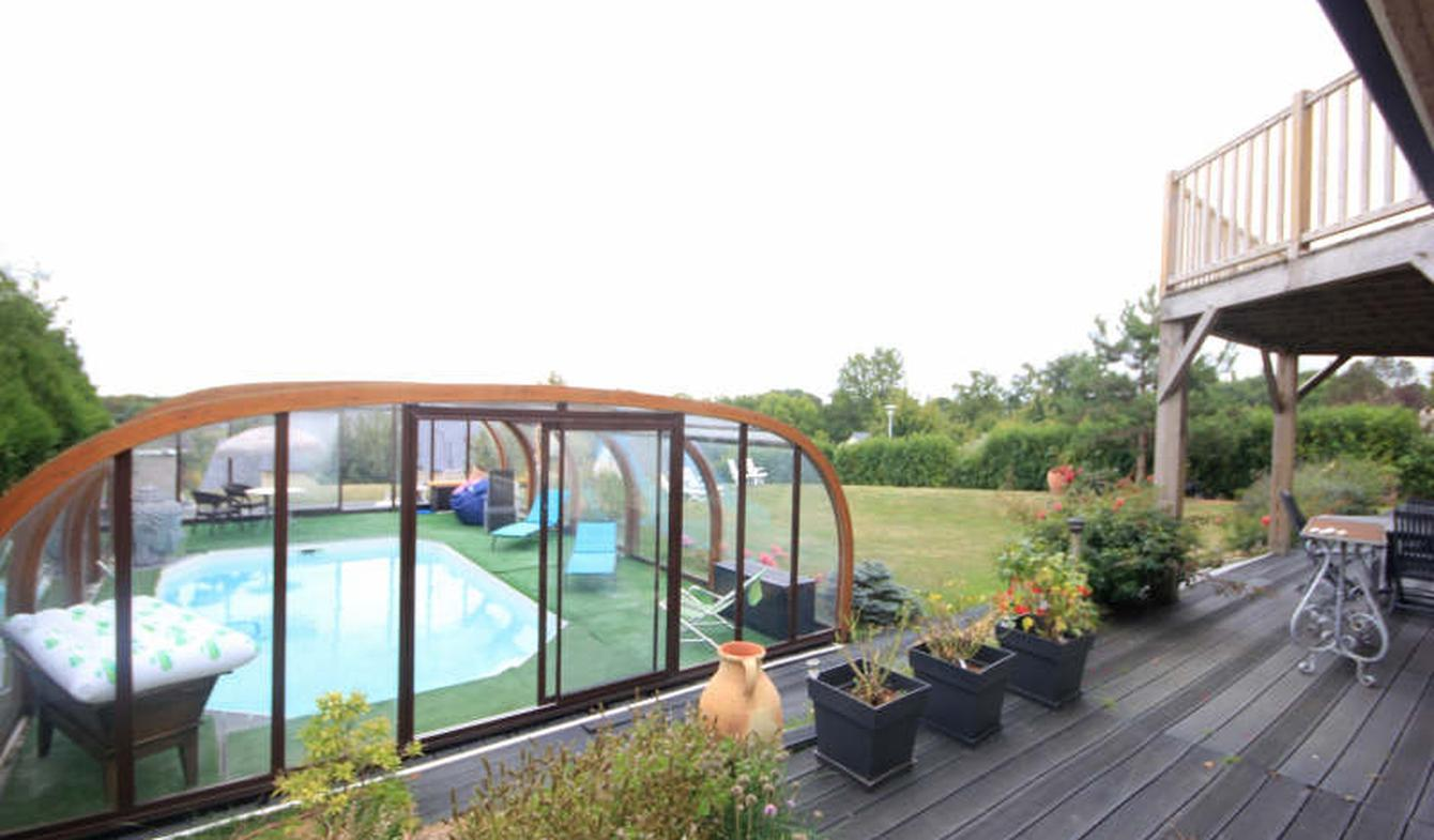 Maison avec piscine et terrasse Villers-sur-Mer